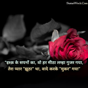 Read more about the article Fake Love Quotes In Hindi 2021 | 99+ Best Fake Love Shayari, Status, DP